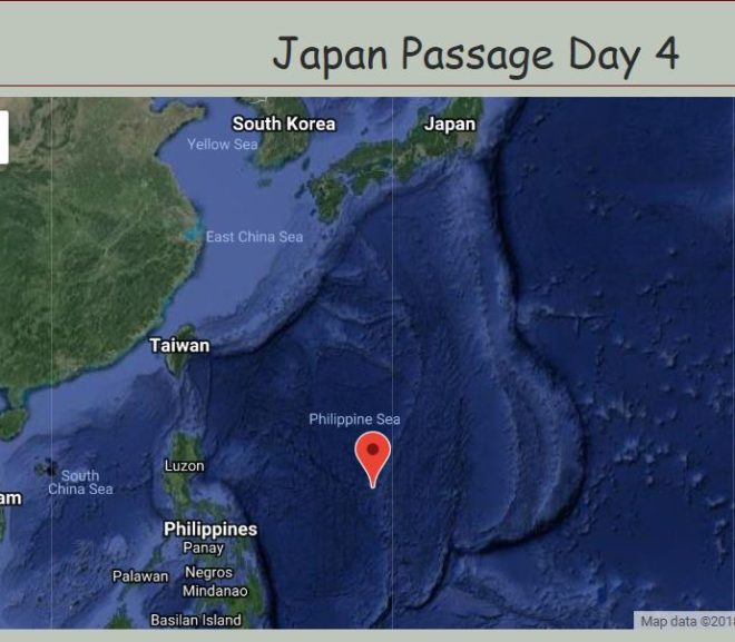 Passage To Japan, Day 4