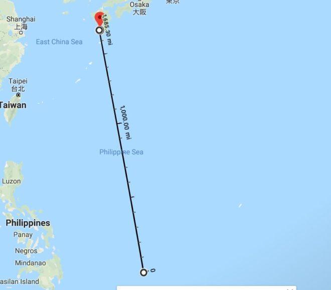 Farewell Palau – Japan Here We Come